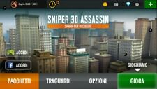 SNIPER 3D Assassin New Player with full developed MSR and SRM19