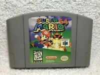 Super Mario 64 N64 (Nintendo 64, 1996) Authentic Game Cartridge, Tested