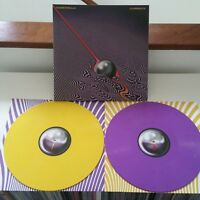 TAME IMPALA CURRENTS LIMITED YELLOW & PURPLE Vinyl LP UK Version. NEAR MINT RARE