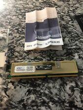 OCZ Gold OCZ26672048eldcge-k 1024MB DDR2 PC2-5400 667MHZ Memory FOR DESKTOP PC
