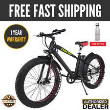 "New Nakto 26"" 300W Electric Bicycle Fat Tire Mountain E-bike Smart Multi-Display"