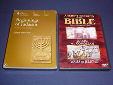 Teaching Co Great Courses DVDs           BEGINNINGS OF JUDAISM      new + BONUS