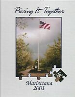 MARIETTANA MARIETTA COLLEGE 2001 YEARBOOK OHIO - 911 Tragedy & More