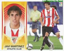 13 JAVI MARTINEZ ESPANA ATHLETIC CLUB STICKER ESTE LIGA 2010 PANINI
