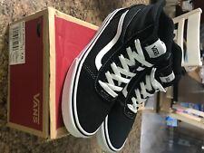 Vans Hi Top Shoes size 7 youth Black white