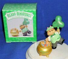 Hallmark St. Patrick's Day Merry Miniatures Lucky Cameron 1996 Leprechaun Cat #2