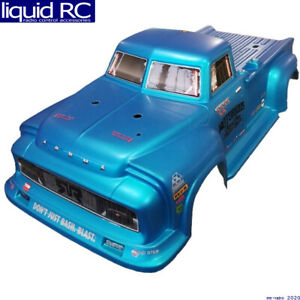 Arrma AR406152 Notorious 6s Blx Painted Decaled Trimmed Body (Blue Real Steel)