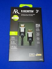 AR High Silver Series 3 ft HDMI Cable NEW