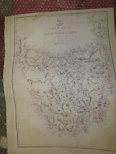 Tasmania van Diemens Land Islandsc1863 Dispatch At Engraved E.WellerFramed20more