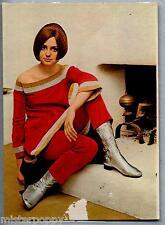GIGLIOLA CINQUETTI PC 1966 Cartolina Beat Music Pop Star Cantante