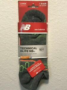 New Balance Technical Elite NBx No Show 1 Pair  L