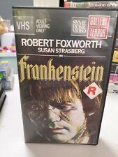 Frankenstein Vhs Horror Movie Video Tape Pal Gallery of Terror R18+ 1973
