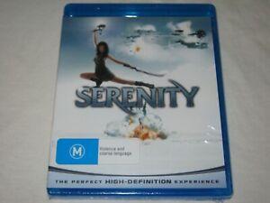 Serenity - HD - Brand New & Sealed - Region B - Blu Ray