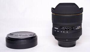 SIGMA 12-24mm F4.5-5.6D EX DG HSM for Nikon F Mount - Read Description