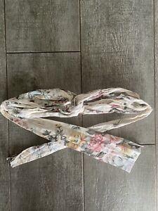 Zimmermann Headwrap Floral Twisted EUC