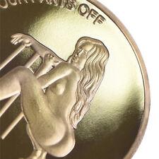 Pièce commémorative Sexy femme chance Collection Arts cadeaux Bitcoin Souvenir