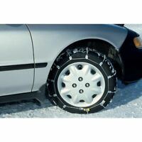 """SCC 14""""/15""""/16"""" Radial Snow Chain Cable Traction Tire Chain Set of 2 SC1030"""