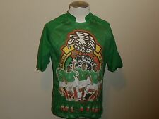 MEXICO NATIONAL TEAM GERMANY 2006 GREEN JERSEY  DRAKO MEN ONE SIZE