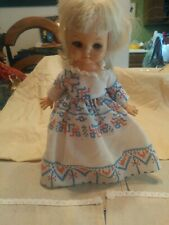 Vtg Horsman Doll Original Dress 11""