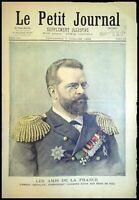 Le Petit Journal N°242 du 1895 - L'Amiral SKRYDLOW, Un Drame parisien