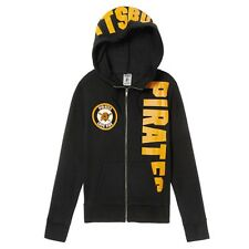 Pittsburgh Pirates Victoria's Secret PINK MLB M Zip-up Hoodie Sweatshirt Jacket