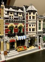 LEGO CUSTOM MODULAR BUILDING Like Green Grocer fits with 10185 10251 MOC 477 np