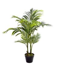 "Best Artificial 100cm/3ft 6"" ARECA PALM Tree Tropical Office PLANT Conservatory"