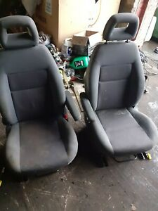 FORD GALAXY VW SHARAN PAIR OF SWIRVEL FRONT SEATS WITH AIRBAG
