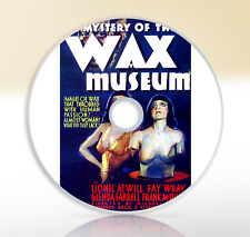 The Mystery Of The Wax Museum (1933) DVD Classic Horror Movie Film Lionel Atwill