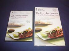 Teaching Co Great Courses DVD Everyday Gourmet  Making  Healthy Food Taste Great