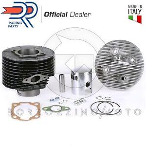 KT00015 Set Groupe Thermique DR D.57 Cylindre 130cc Pour VESPA 125 Pk (VMX1T)