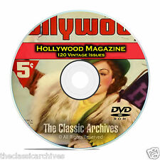 Hollywood Magazine, 120 Vintage issues, Golden Movie Age, 1934-1963, DVD CD C13