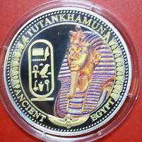"Solomon Islands 2 Dollars 2014 Silber PP-Proof #F3054 Colored ""Tutankhamun"""