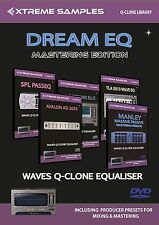 XTREME samples Dream EQ masterizzazione Edition (Waves Q-clone Library)