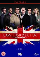 Law and Order UK Series 7 TV Season Seven Law & Order Region 4 New DVD (2 Discs)