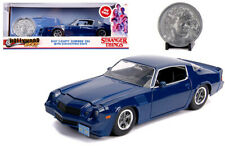 STRANGER THINGS Billy's 1979 Chevy Camaro Diecast Car 1:24 Jada 8 inch w Coin