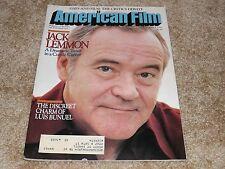 AMERICAN FILM (SEP '82) JACK LEMMON Cover-LUIS BUNUEL-NIGHT FLIGHT (USA NETWORK)