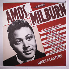 AMOS MILBURN: Rare Masters LP (France) Blues & R&B