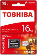 Memory card Toshiba per cellulari e palmari microsd classe 4