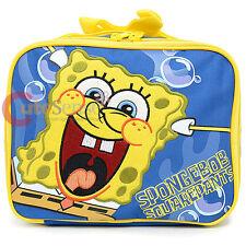 Nick Jr Spongebob School Lunch Bag Insulated Food Snack Box - Bubble