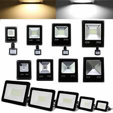 LED Fluter mit Bewegungsmelder 10W-100W Außenleuchte IP65 Gartenlicht Lampe 230V