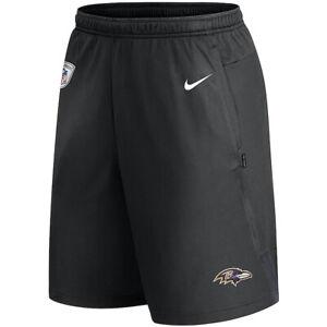 New 2021 NFL Baltimore Ravens Nike Coach Performance Dri-FIT Training Shorts NWT