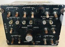 BENDIX Vintage Cockpit Audio selector panel 1960's AMERICANA