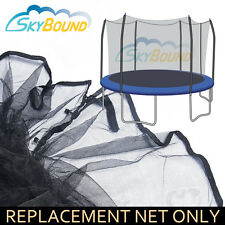 12ft Trampoline Net for Skywalker Trampolines with 6 Curved Poles (Net Only)