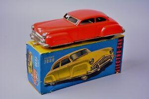 Vintage Tinplate Distler Electro-Car Futuristic 1950s Car, German, Boxed