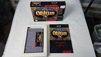 OBITUS SNES SUPER NINTENDO VIDEO GAME COMPLETE IN BOX