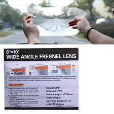 "WIDE ANGLE CAR REAR WINDOW FRESNEL LENS  VIEW OPTICAL 8""x10"" Reversing Parking"