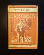 LES MISERABLES by Victor Hugo, Modern Library Giant Edition with Dust Jacket