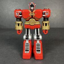 "Sabans Power Rangers Zeo Red Battlezord 5"" Action Figure Vintage BanDai 1996"