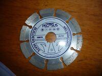 NEW  PEGASUS diamond cutting disc craftsman builders mate CBM 125x 22.2mm bore